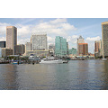 Inner Harbor downtown cityscape