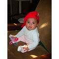 tomboy olivia red cap sitting chair