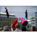 strange fruit group art festival reykjavik iceland summer pole people fun