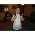 Thumbs up for the first day of school!