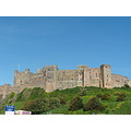 Bamburgh blue skies