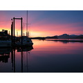 harbor sunrise alaska