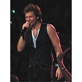 My sister and I went to the Bon Jovi concert last weekend.  