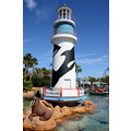 seaworld orlando florida lighthouse lake sculpture