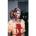 Sasparella Girl Model Zombie Halloween Blood Scary Horror