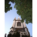 church tower of st dunstan in the east the city london