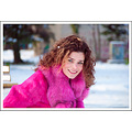 girl woman wife beauty snow portrait pink nikon sigma bulgaria