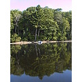 Beautiful calm morning on the Lake. After 17 years, decided since it was so calm I would try wat...