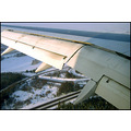 flight airplane wing aircraft snow weather technology plane transportation
