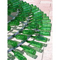 art sculpture glass green light sun lu2008 lubranco