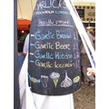 garlic garlicfestival isleofwight iow bread beer icecream