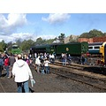 england barrowhill railways trains people tornado