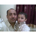 Umer with Baba