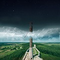 artistic landscape tower ch281ciny surreal composition fantasy keitology