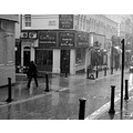 rain london blackandwhite