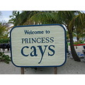 eastern caribbean cruise princess cays sign beach
