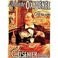 French advertisement for absinthe, beginning of XX. Century.