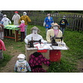 handmade doll handicraft art craft trip garden Sabile Latvia travel