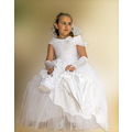 communion kids girl white