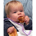 baby toddler toast breakfast eat eating