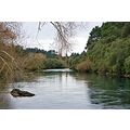 waikato river autumn lake taupo nz