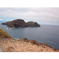 PortoSanto island Madeira Portugal dry islet high view holiday 2007 sea