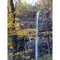 waterfall fall leaves fallcolour autumn