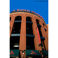stlouis missouri us usa architecture Busch stadium Cardinals sky 081009 2009
