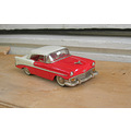 white metal car model 143 scale toy chevrolet 1956 USmodel mint