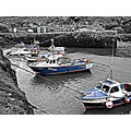 Boscastle Fishing Fleet Cornwall hdr 2011rob