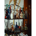 2008 home christmas decorations bottles licueurs traditions collection old xmas