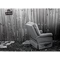 chair alley garbage trash blackwhite bw bewareofdog