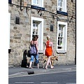 Bakewell The Peak District Derbyshire Candid Girl Woman