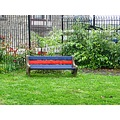 Kelly Drive Colorful Bench April 2010