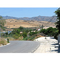 landscape outside our home alora andalucia spain gold hills