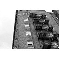 fire escape blackandwhite