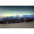 Black mountains Wales snow Michaelchurch Escley hereford golden valley here