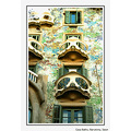 Another View of Gaudi's Casa Batllo, Barcelona, Spain