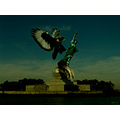 Falcon New York Nature Statue Liberty MNA PhotoShop Attack