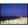 fortaleza ceara brasil beach mucuripe blue sky night lughts