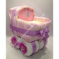 baby carriage diaper cake girl gifts unique cakes