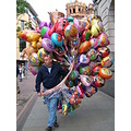 The Balloon seller One of Nottinghams Characters