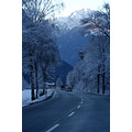 winter landscape scenery street snow