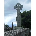 Celtic cross Yeats burial grounds drumcliff