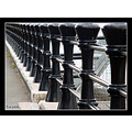 railings black cast iron pier harbour jetty