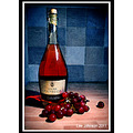 Fine art wine grapes fruit still life Spideyj