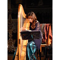 portrait harp Savall concert music church