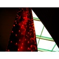 christmas pillar roof shoppingcentre