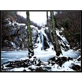 waterfall water winter series