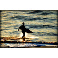 surf surfer beach ocean san francisco water waves sand sunset